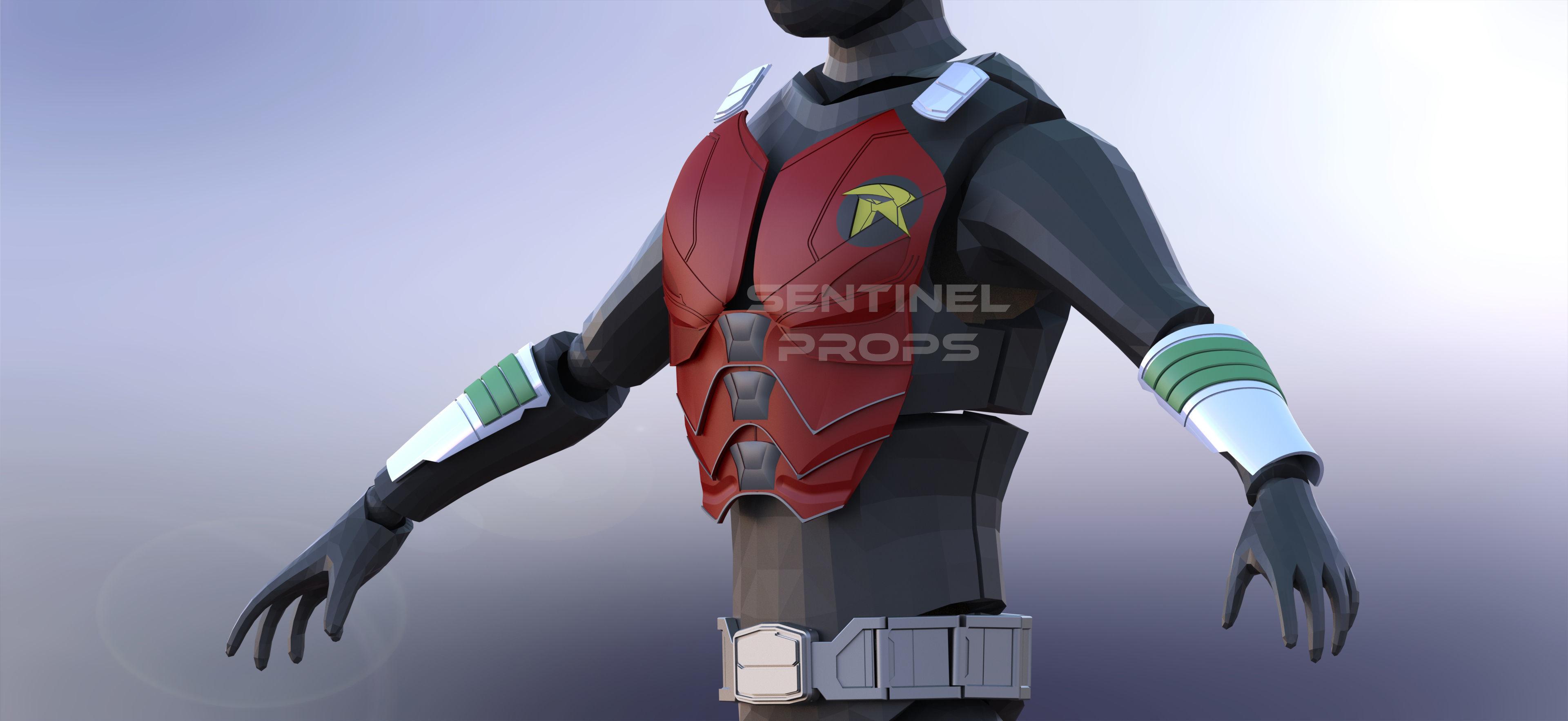 Titans Robin Jason Todd Armor