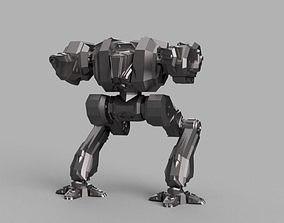 Battle Mech Spartan 3D printable model
