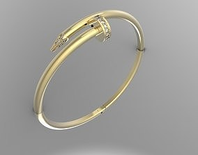 gem 3D printable model CARTIER BRACELET