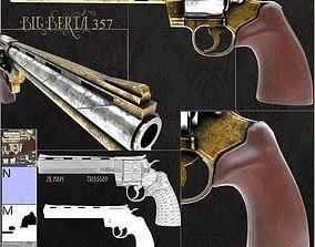 3D model Revolver Big Berta