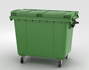 3D Large Garbage Container