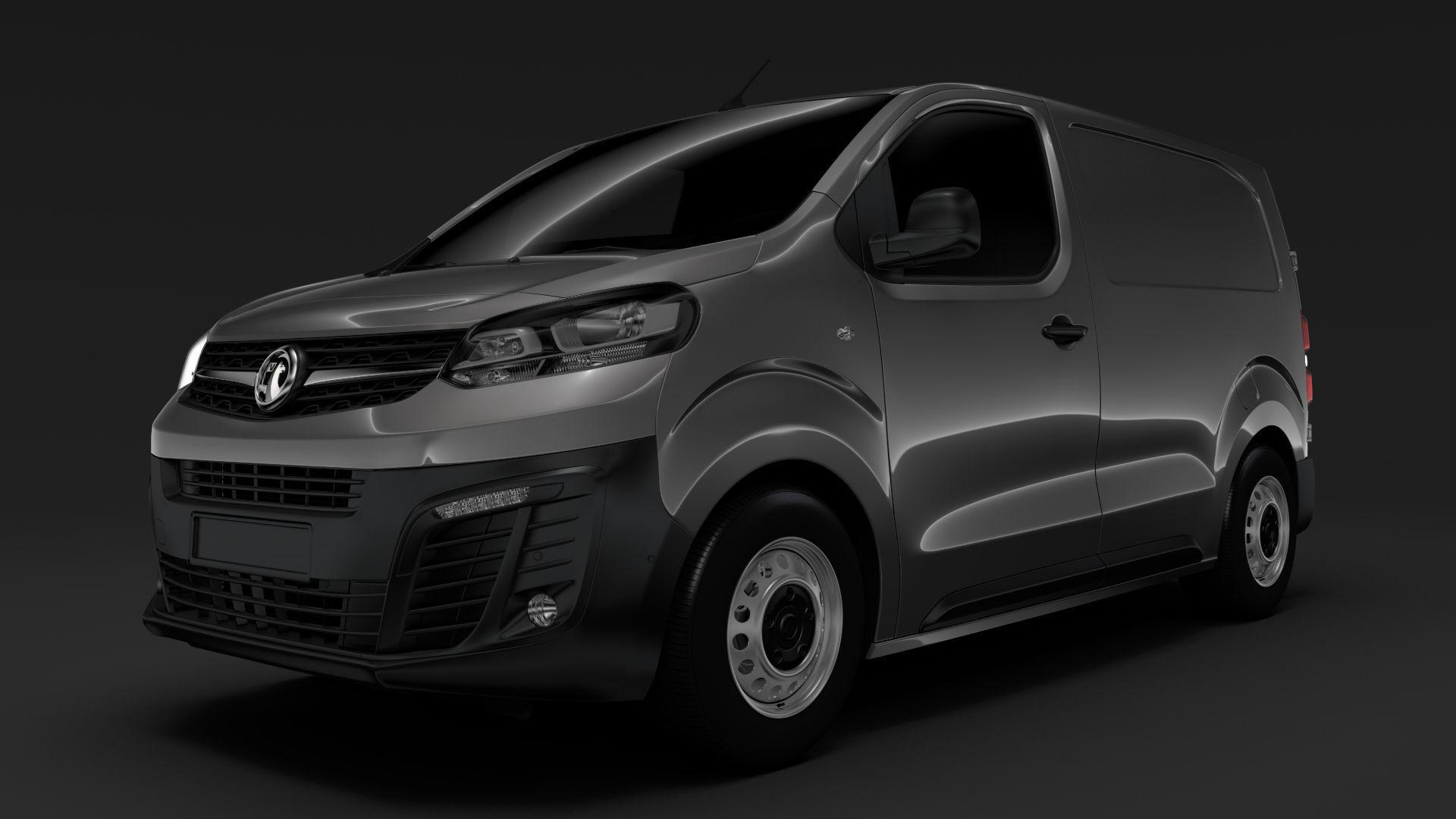 Vauxhall Vivaro L1 2020 3d Cgtrader