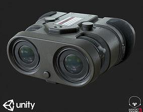 3D asset Sci-Fi Binocular PBR Specular Mobile