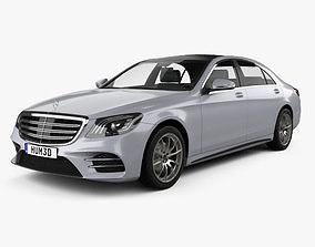 Mercedes-Benz S-class V222 LWB AMG Line 2017 3D model