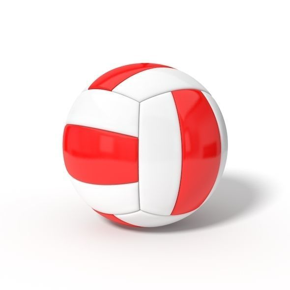 simple volley ball | 3D model