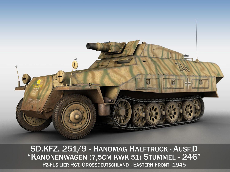 SDKFZ 251 - Ausf D - Stummel - 246