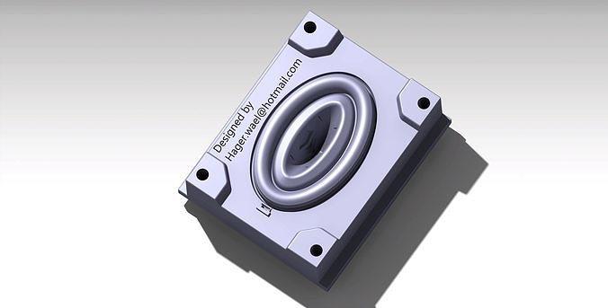 design any 3d part and design mold for it 3d model stl ige igs iges stp 1