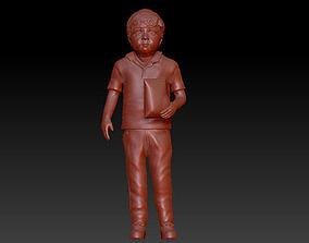 full body baby boy realistic 3D model