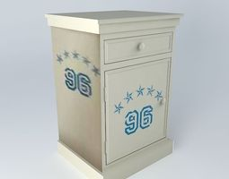 nightstand championship houses the world 3d model