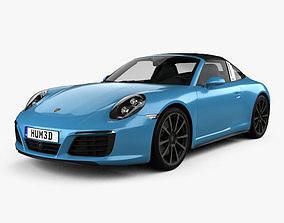 Porsche 911 Targa 991 4S 2016 3D