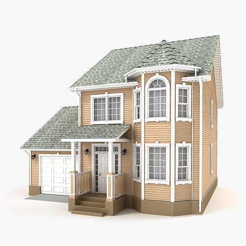 cottage 73 3d model max obj mtl 3ds fbx tga 1
