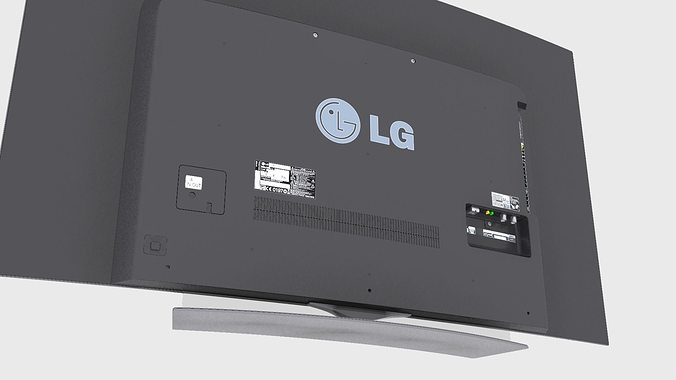 lg 4k tv lg oled 4k tv 3d model max obj 3ds fbx mtl 5