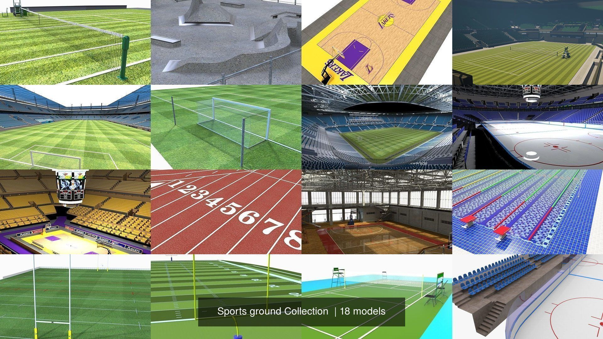 Sports ground Collection
