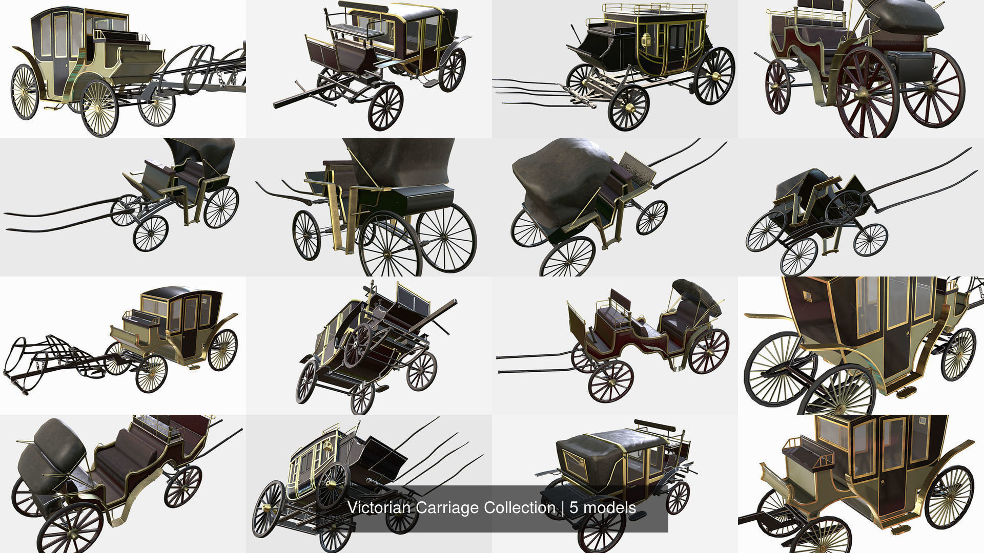 Victorian Carriage Collection