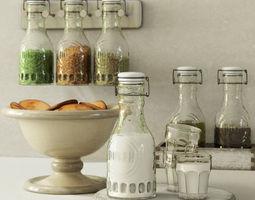 3D model Pottery Barn Glass Carafe