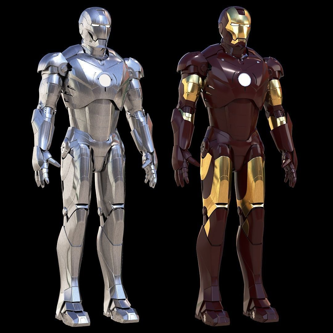 Iron Man Mark 2 and 3 Pack