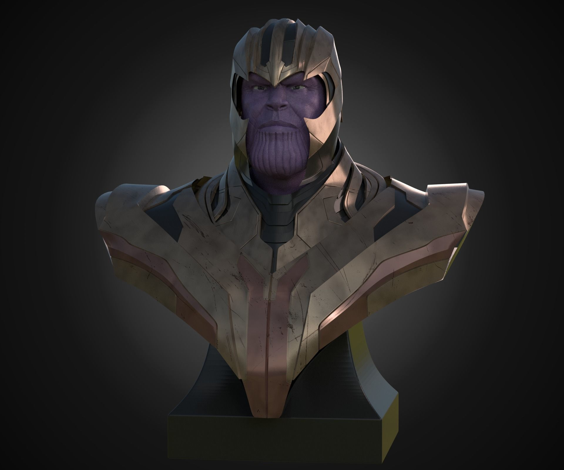 Bust of Thanos
