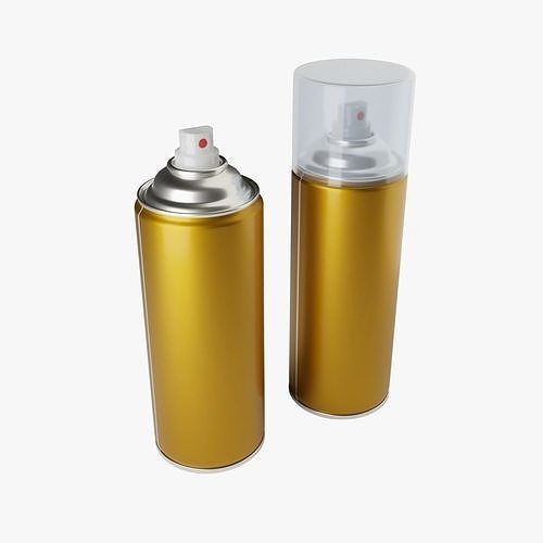 spray can 3d 3d model obj mtl fbx stl blend dae 1