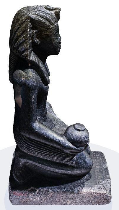 Art Car Museum >> Egyptian statue from Berlin museum 3D Model 3D printable STL   CGTrader.com