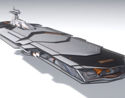 3D ISA Heavy Cruiser