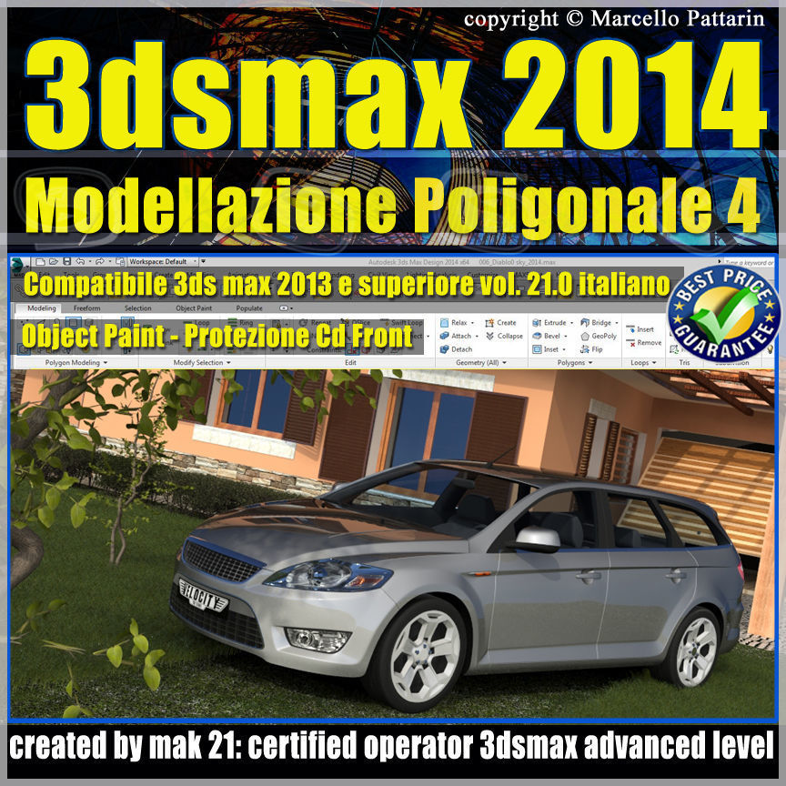 3ds max 2014 Object Paint vol 21 cd front