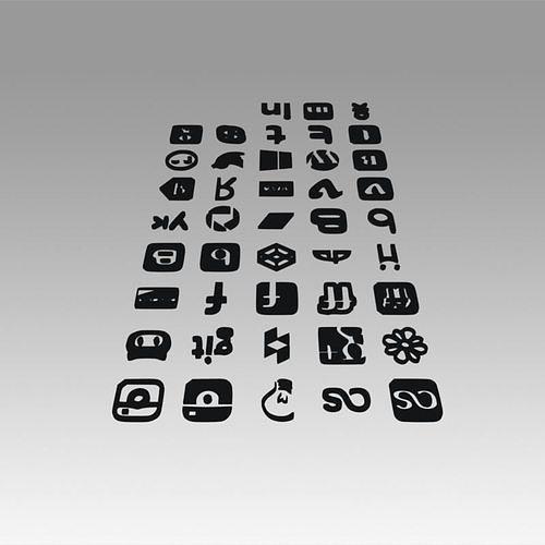 social-icons-logo-3d-model-max-obj-mtl-f