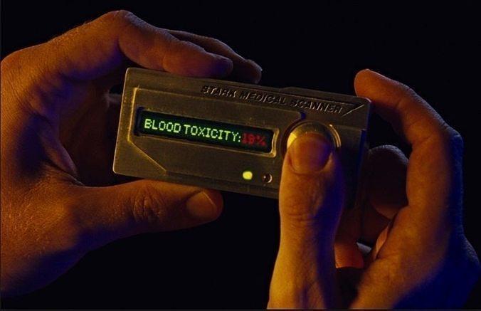 IronMan II Tonys Paladium Toxicity Meter Device