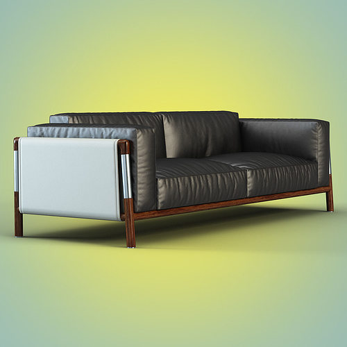 sofa urban by giorgetti 3d model max obj mtl fbx 1