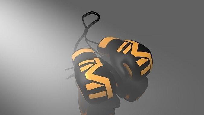 boxe glove mayweather -the money team-