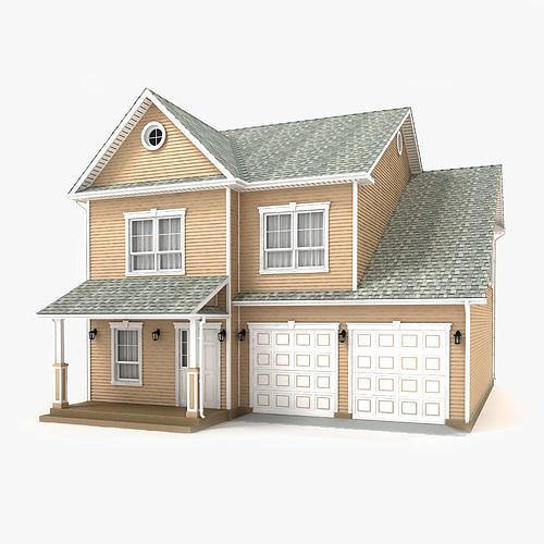 cottage 69 3d model max obj mtl 3ds fbx tga 1