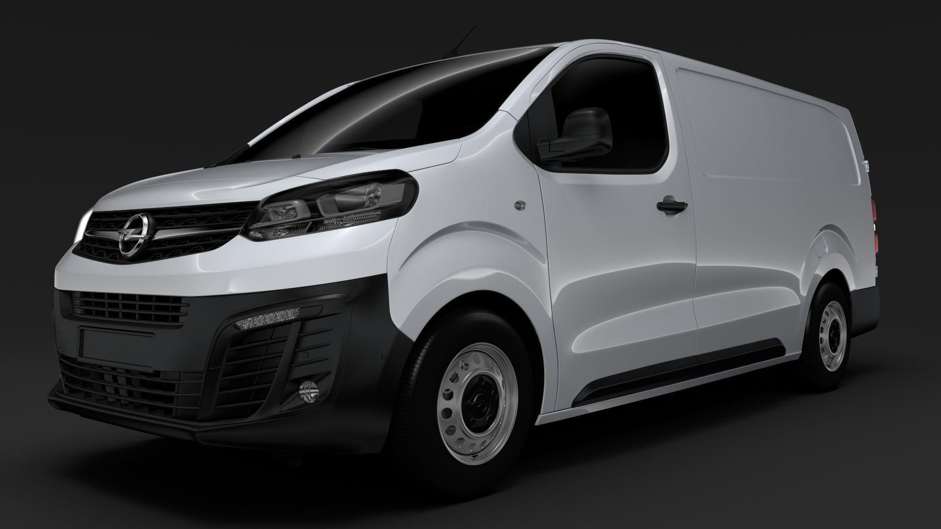 3d Opel Vivaro Van L3 2020 Cgtrader