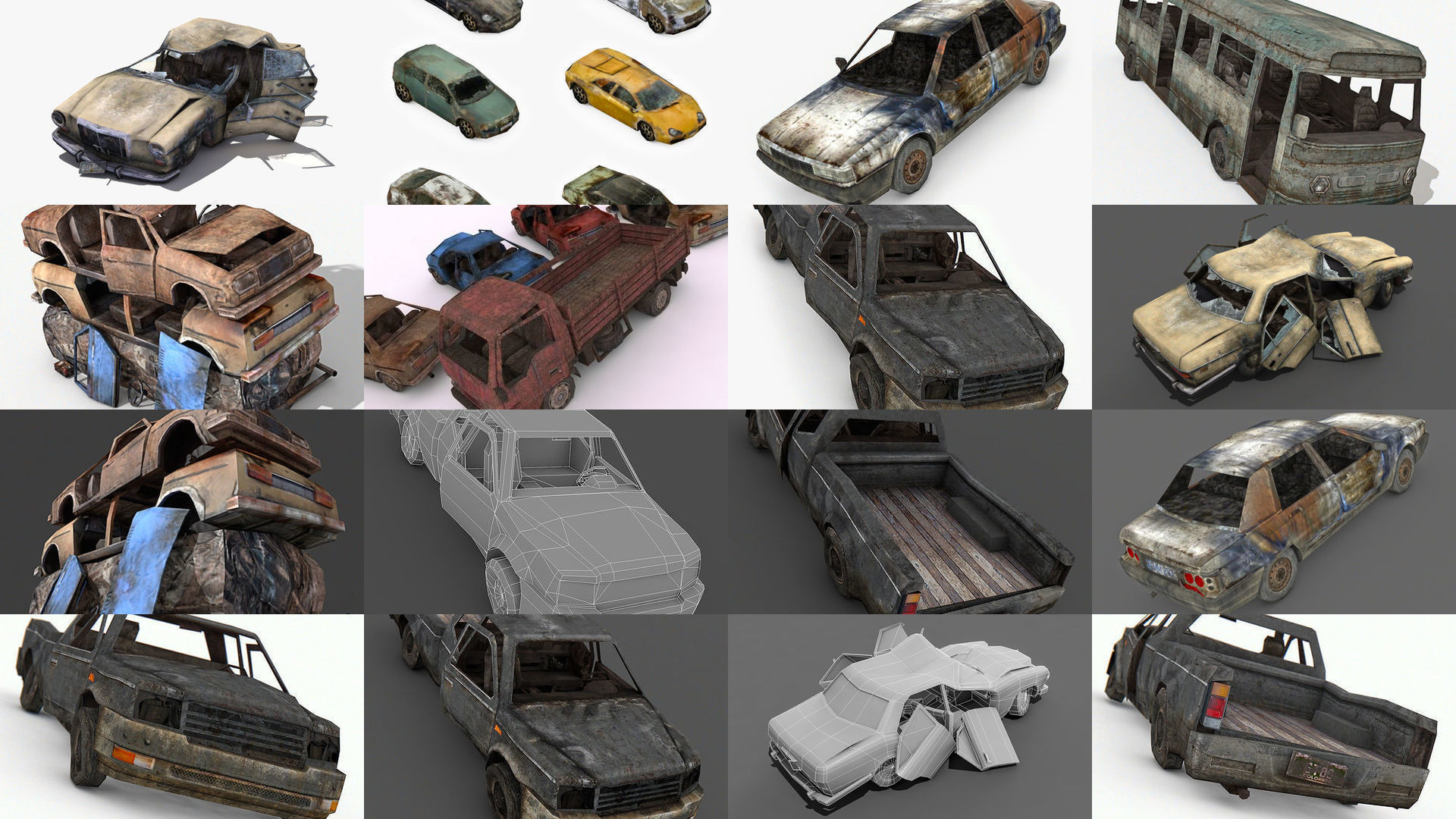 Damage Vehicles Collection