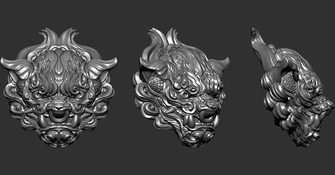 Chiness LionHead