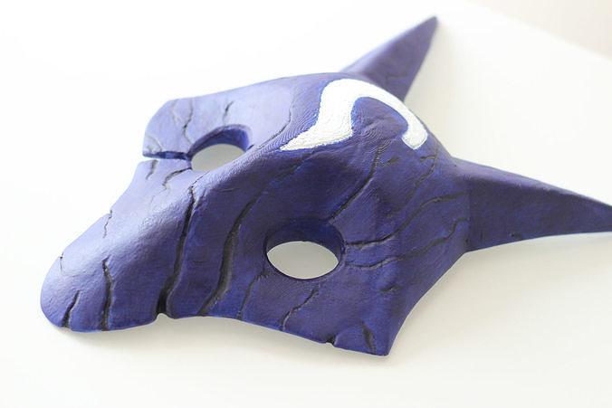 Kindred 3D Mask Printable STL League of Legends