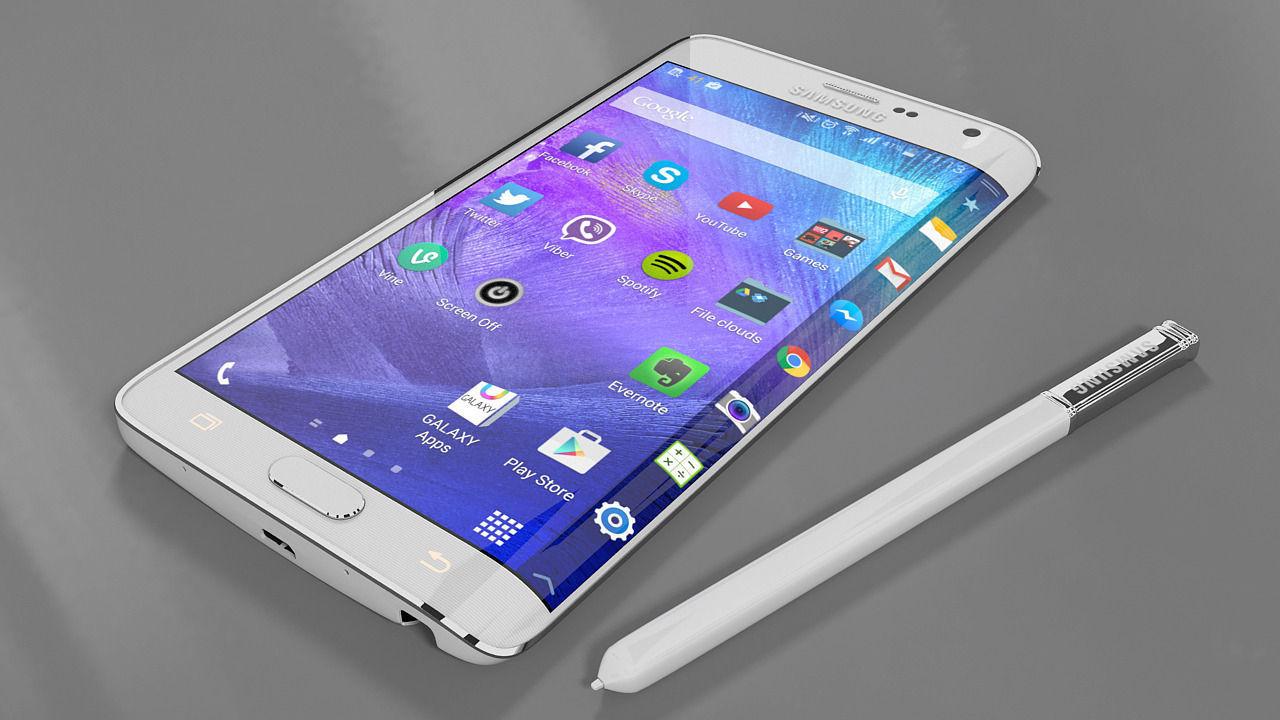 Samsung galaxy note edge 3d model | 3D model