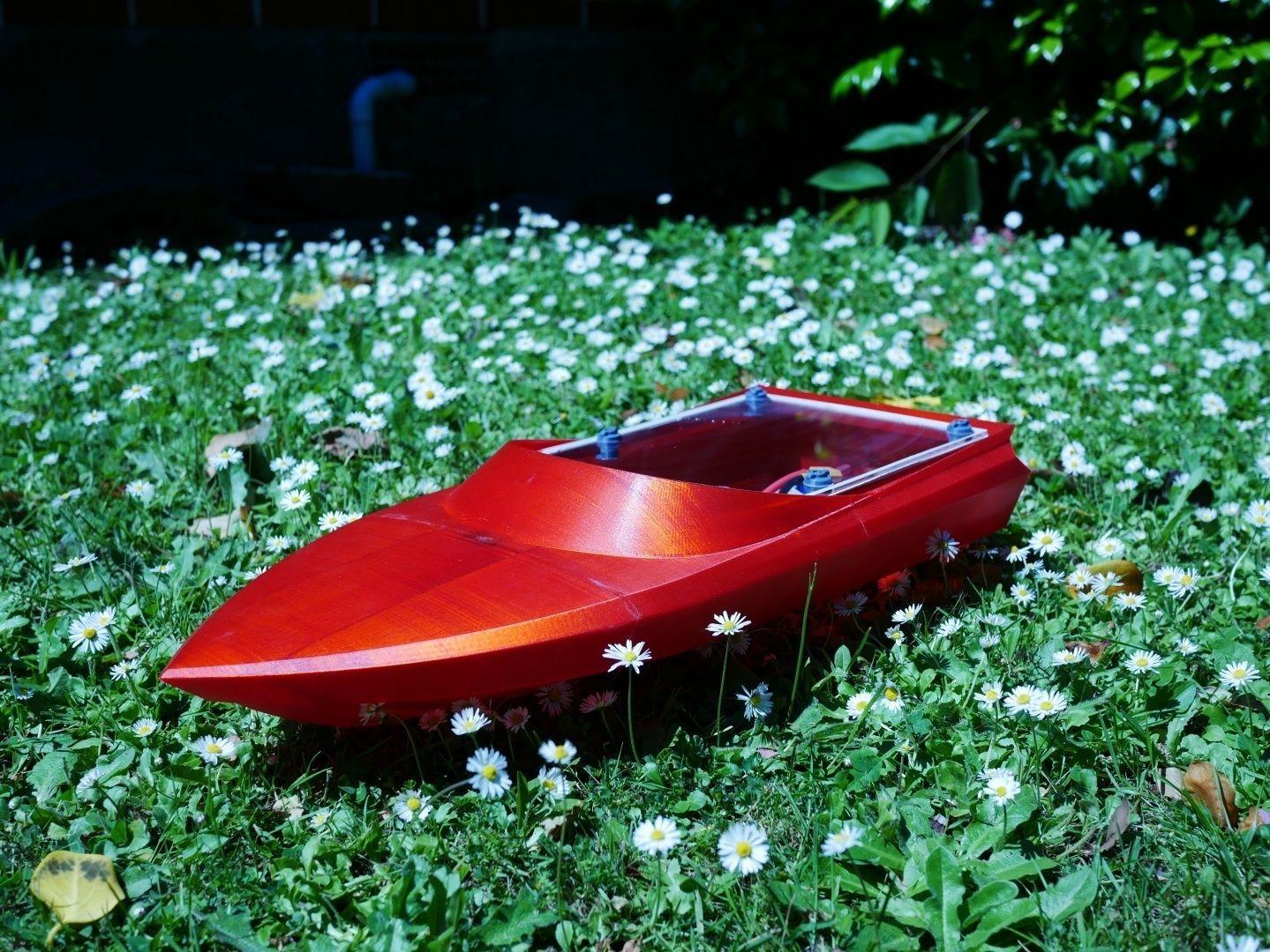 KwikJet - The 3D Printable Jet Boat