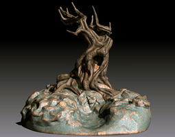 the undying tree 3d print model