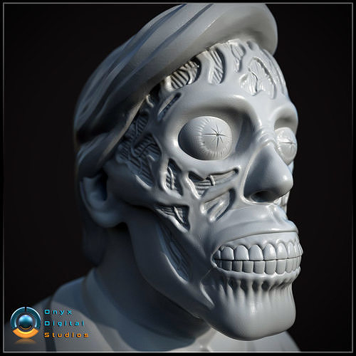 They Live Bust Pose 01 -