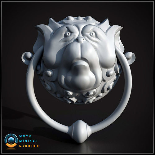 Labyrinth inspired Door knockers