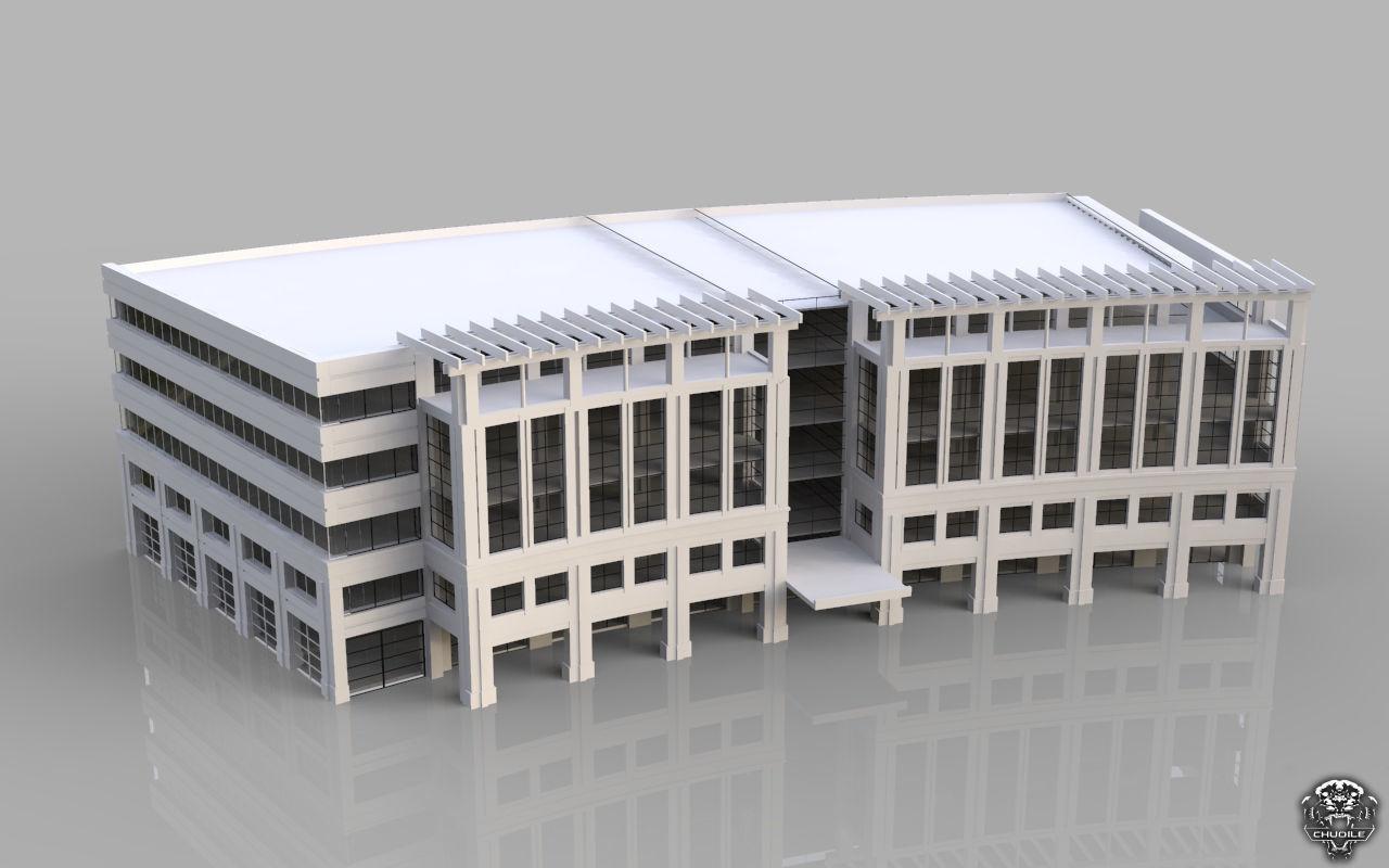 Hospital design building