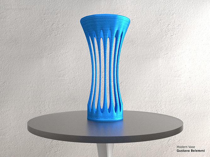 Modern Vase Wide Mouth