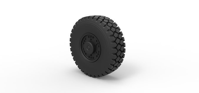 Diecast Offroad truck wheel 1