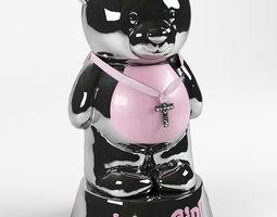 Moneybox Teddy-bear 3D Model