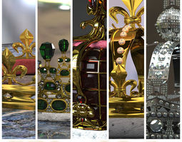 Collection - 5 Crowns 3D