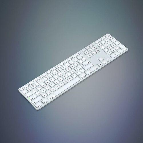 apple keyboard 3d model max obj mtl fbx c4d ma mb 1