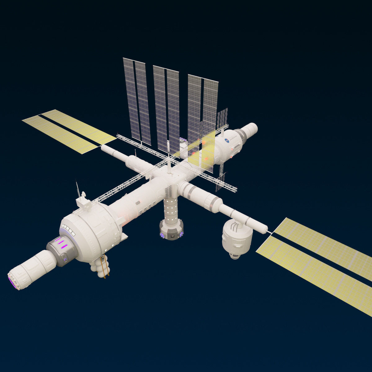 space station 3d models - photo #2