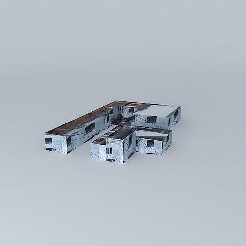 block in campinas-sp 3d model max obj mtl 3ds fbx stl dae 1