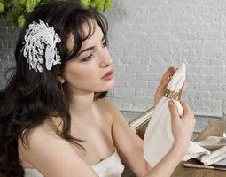 Phoenix Bridal Hair Accessory 3D print model