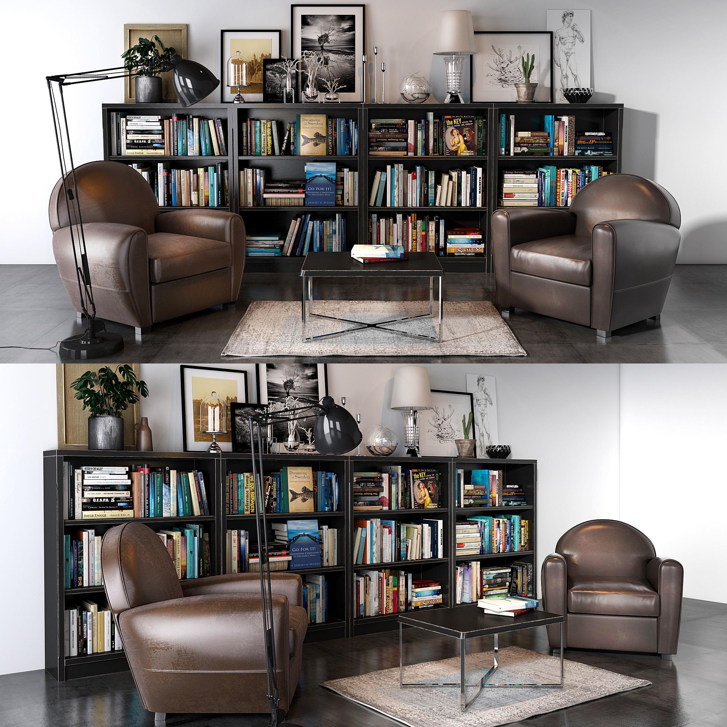 Neology Livingroom set 02 | 3D model