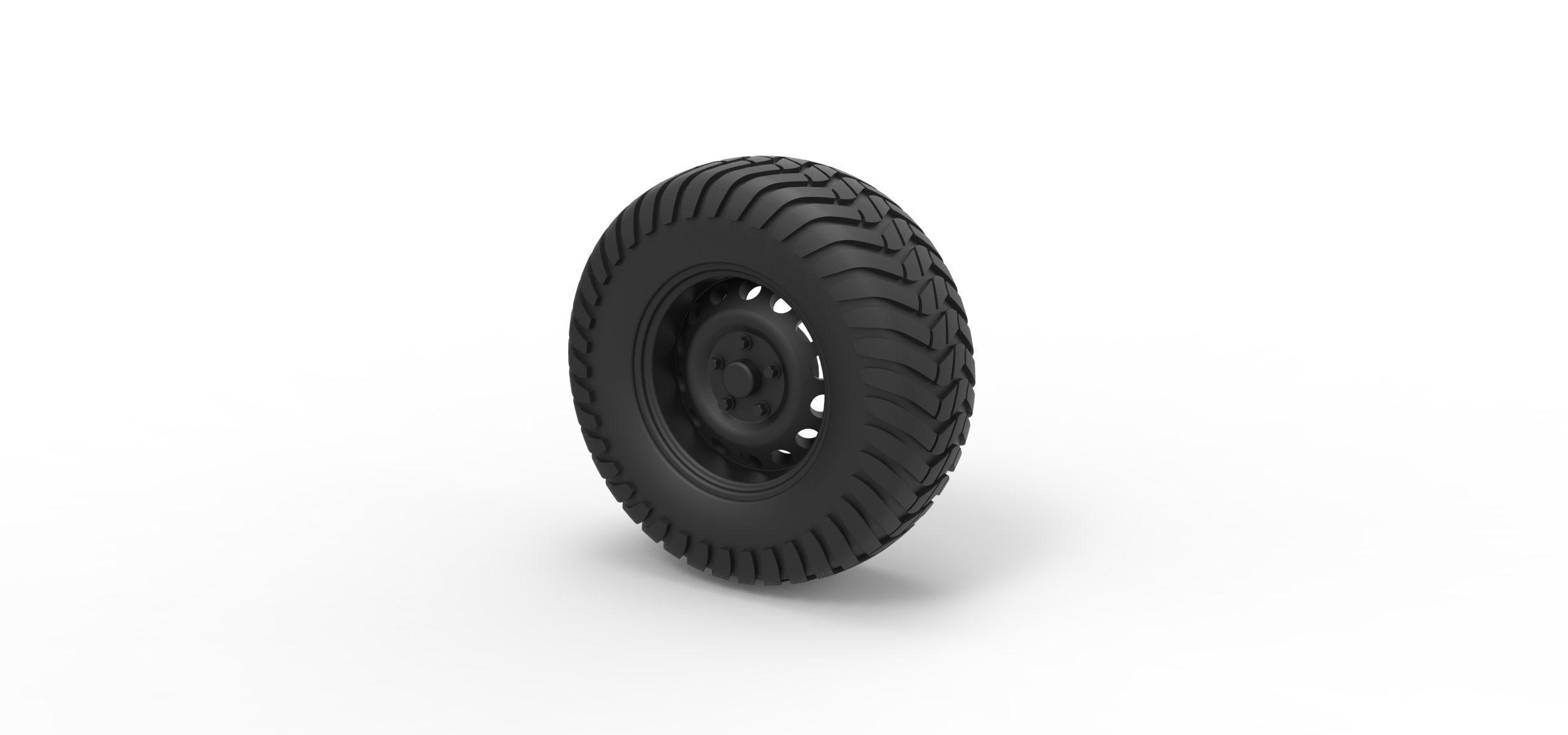 Diecast Offroad wheel 8